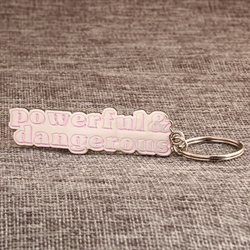 Letters Wholesale Metal Keychains