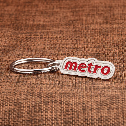 Metro Custom Made Keychains