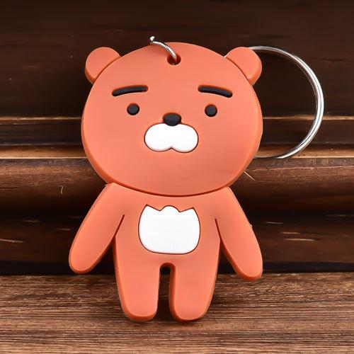 Bear 3D PVC Keychain