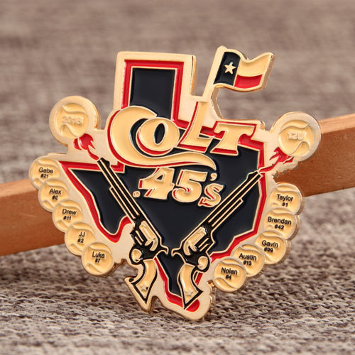 Colt 45's Custom Baseball Pins