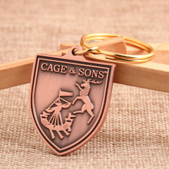 Cage and Sons Antique Keychains