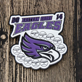 Custom Soft Baseball Pins