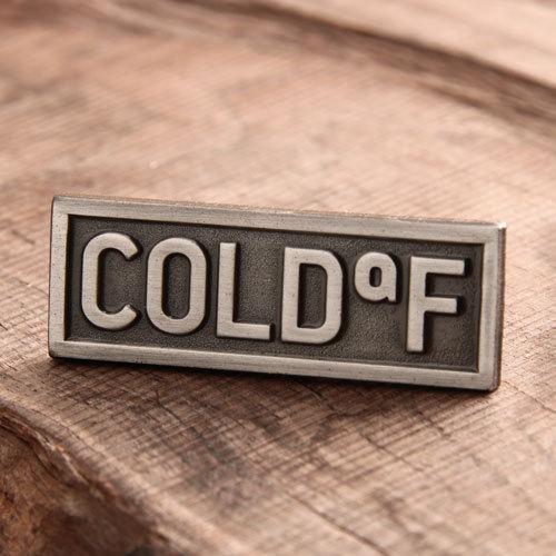 Cold Custom Antique Pins