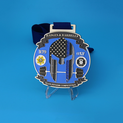 Badges and Barbells Sports Medals