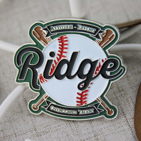 Ridge Custom Baseball Pins