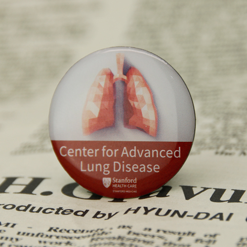 Lung Disease Custom Pins