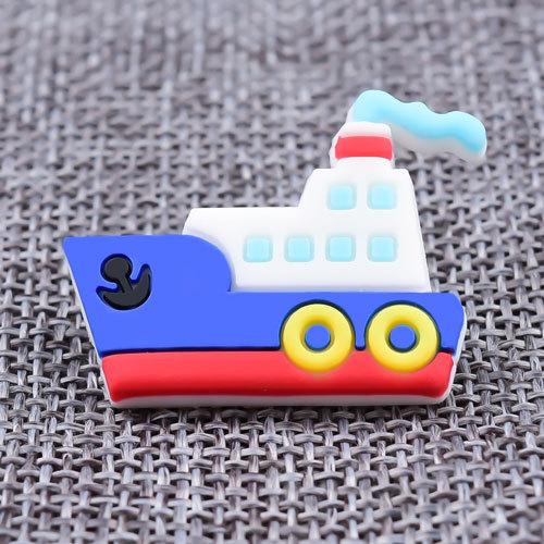 Steamship PVC Lapel Pins