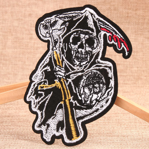 Skeleton Custom Made Patches