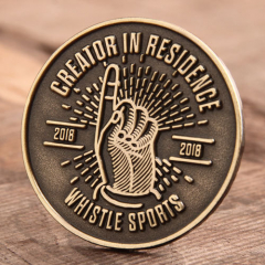 Whistle Sports Antique Pins