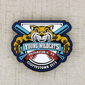 Young Wildcats Baseball Pins