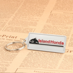 Island Honda Car Cheap Keychains