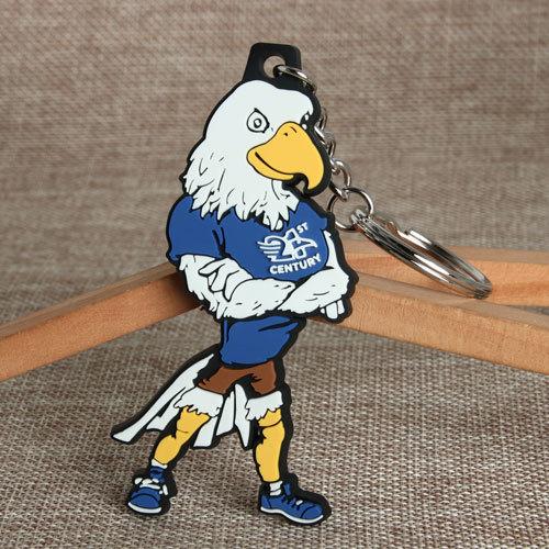Eagle PVC Keychain