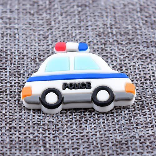 Police Car 3D PVC Patch
