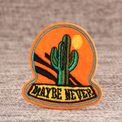 Strong Cactus Custom Made Patches