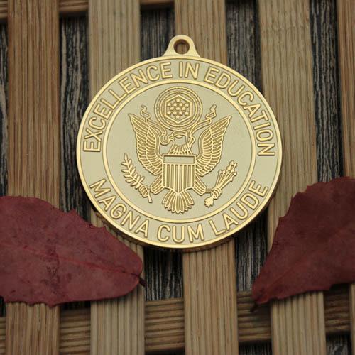 Education Custom Medals