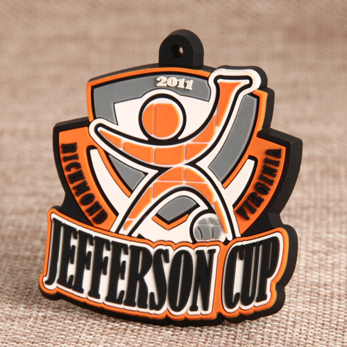 Jefferson Cup PVC Luggage Tag