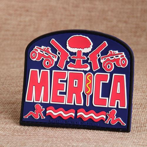 Merica PVC Velcro Patches