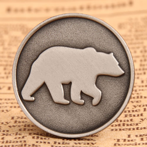 Polar Bear Animal Pins