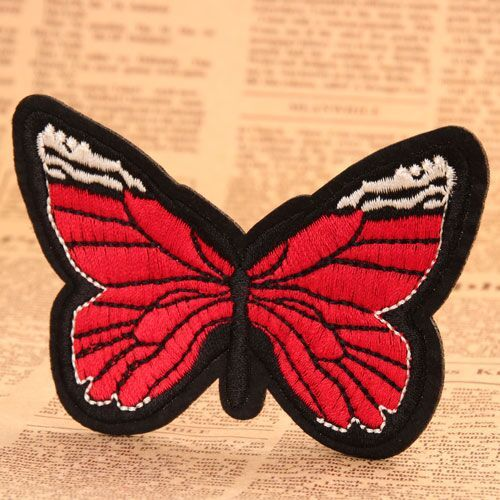 Butterfly Custom Patches No Minimum