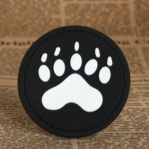 PAW Personalized PVC Patches