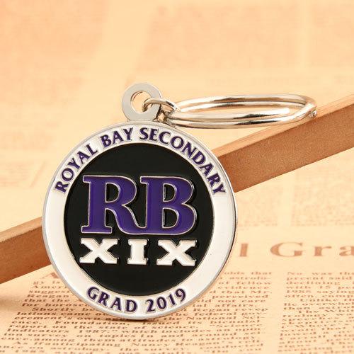 RB XIX Metal Keychains