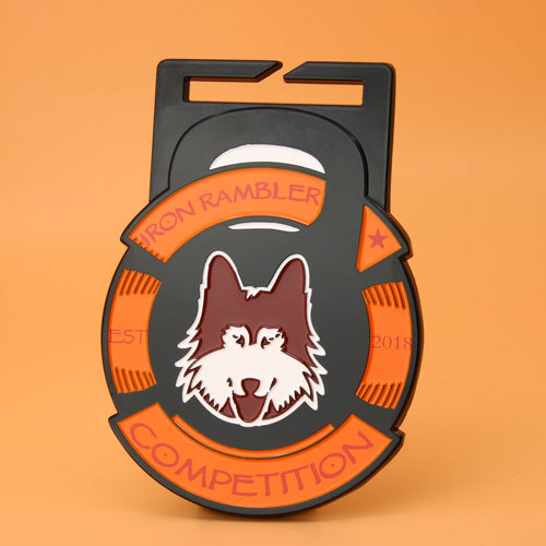 Iron Rambler Competition Custom Medals