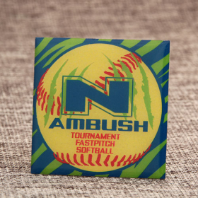 N Ambush Baseball Pins