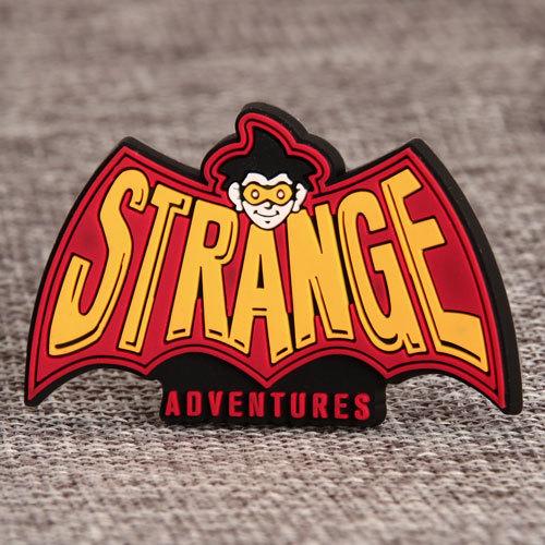 Strange Adventure PVC Patches