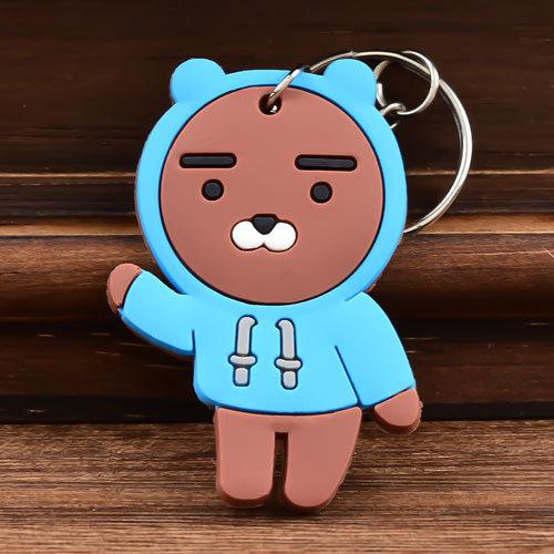 Bear PVC Keychain