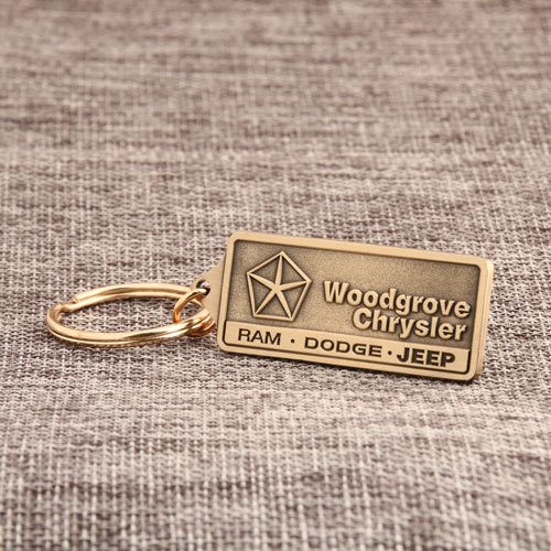 Woodgrove Chrysler Antique Keychains