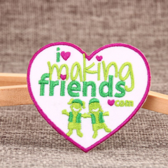 Make Friends Custom Made Patches
