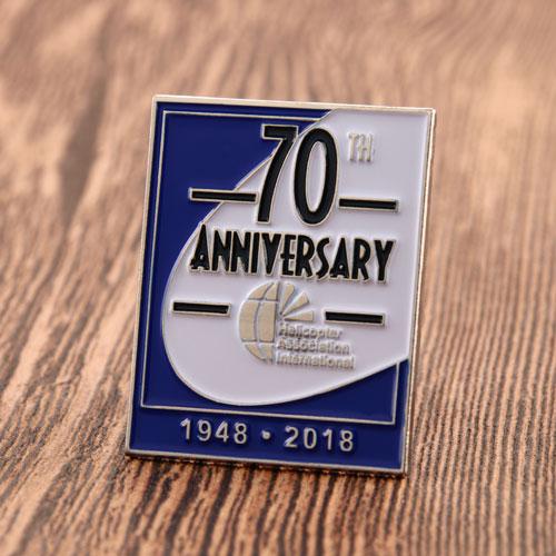 70th Anniversary Enamel Pins