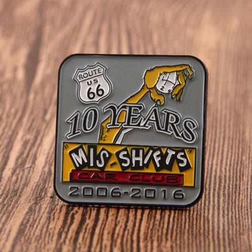 10 YEARS PINS