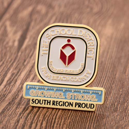 The School District Pins