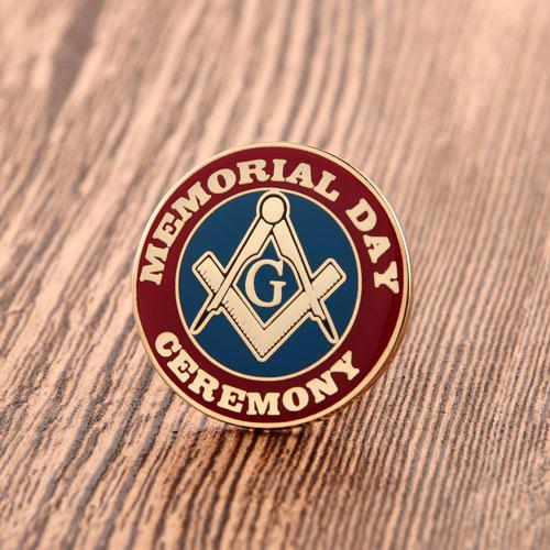 Memorial Enamel Pins