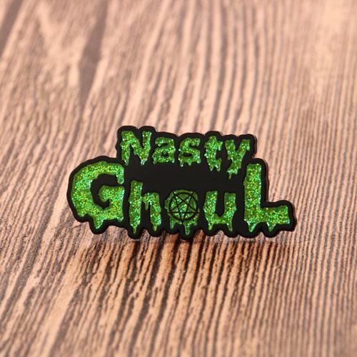 Nasty Ghoul Enamel Lapel Pins