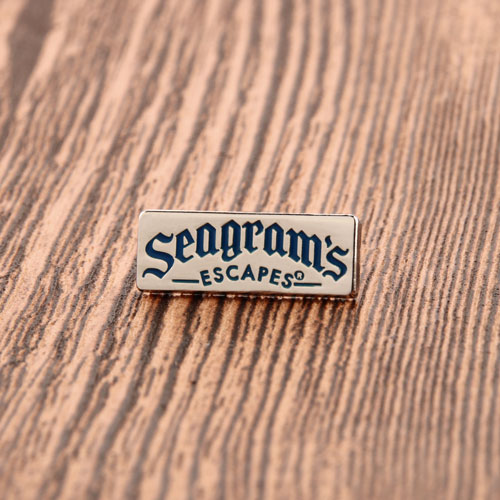Seagrams Enamel Pins