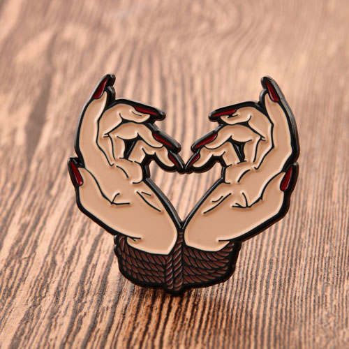 Witch's Hand Enamel Pins