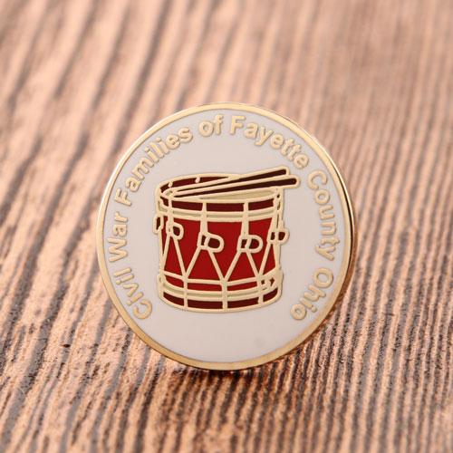 Civil Custom Pins