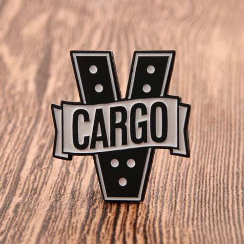 Custom Cargo V Metal Pins