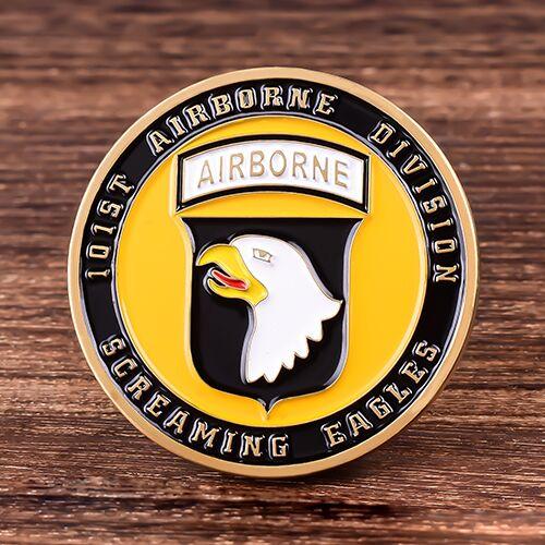 Airborne Custom Challenge Coins