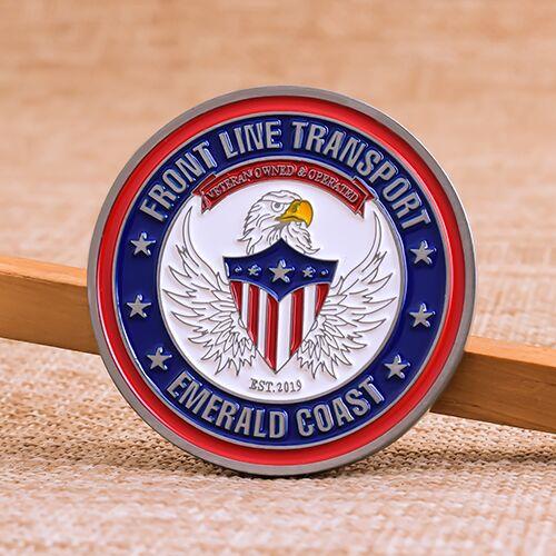 Transportation Custom Coins