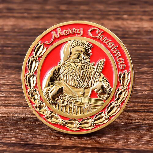 Santa Personalized Coins