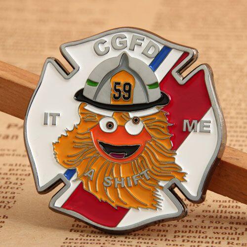 CGFD Firefighter Coins