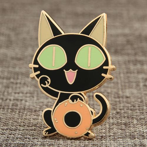 Cat Custom Enamel Pins