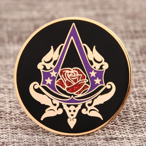 Rose Hard Enamel Pins