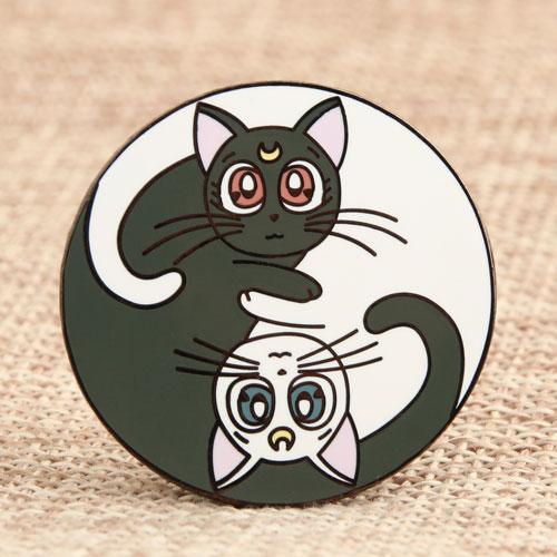Twin Cat Pins
