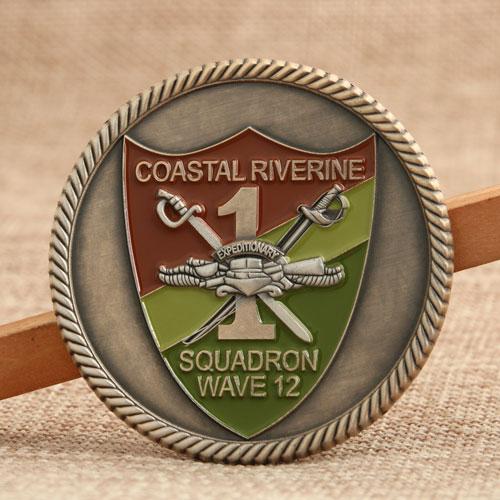 Custom Navy Coins