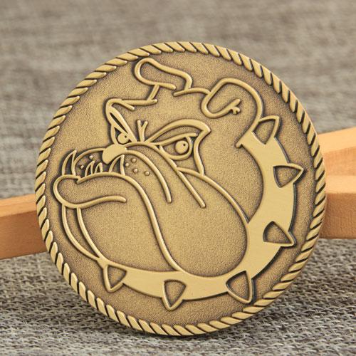 Dog Challenge Coins