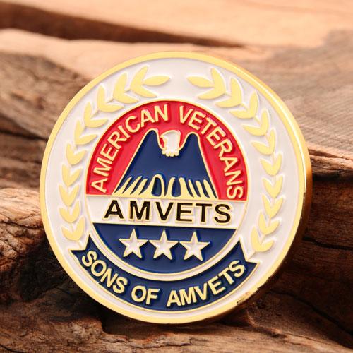AMVETS Custom Challenge Coins